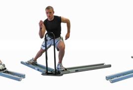 PowerSkater - тренировочная практика
